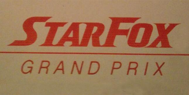 Star Fox Grand Prix Banner