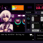 VA-11-HALL-A Cyberpunk Bartender Action Screen 1