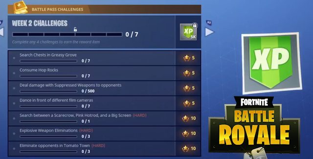 Fortnite Season 4 Week 2 Challenges: Secret Blockbuster Battle Star & Film Cameras Locations Guide