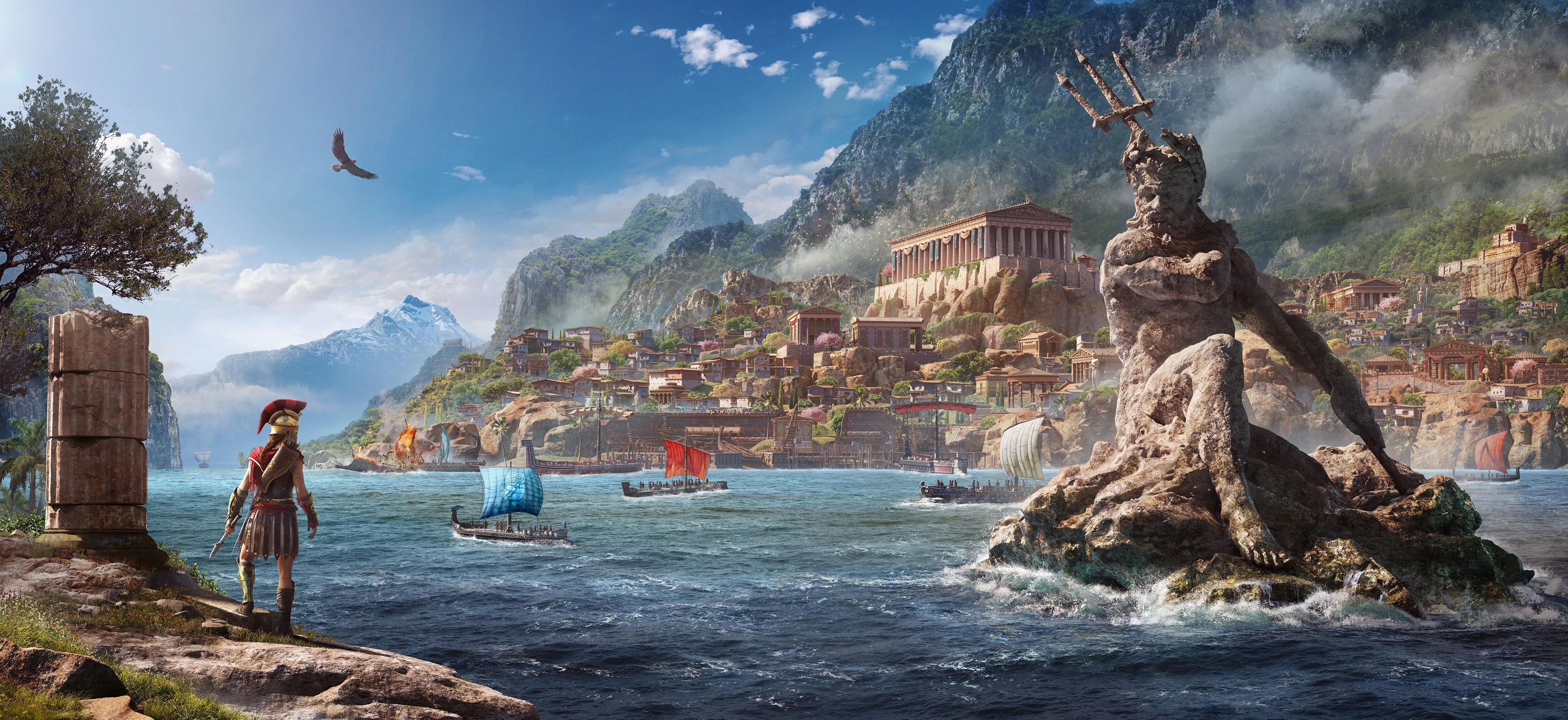 Assassins Creed Odyssey Artwork