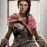 Assassins Creed Odyssey Kassandra Render