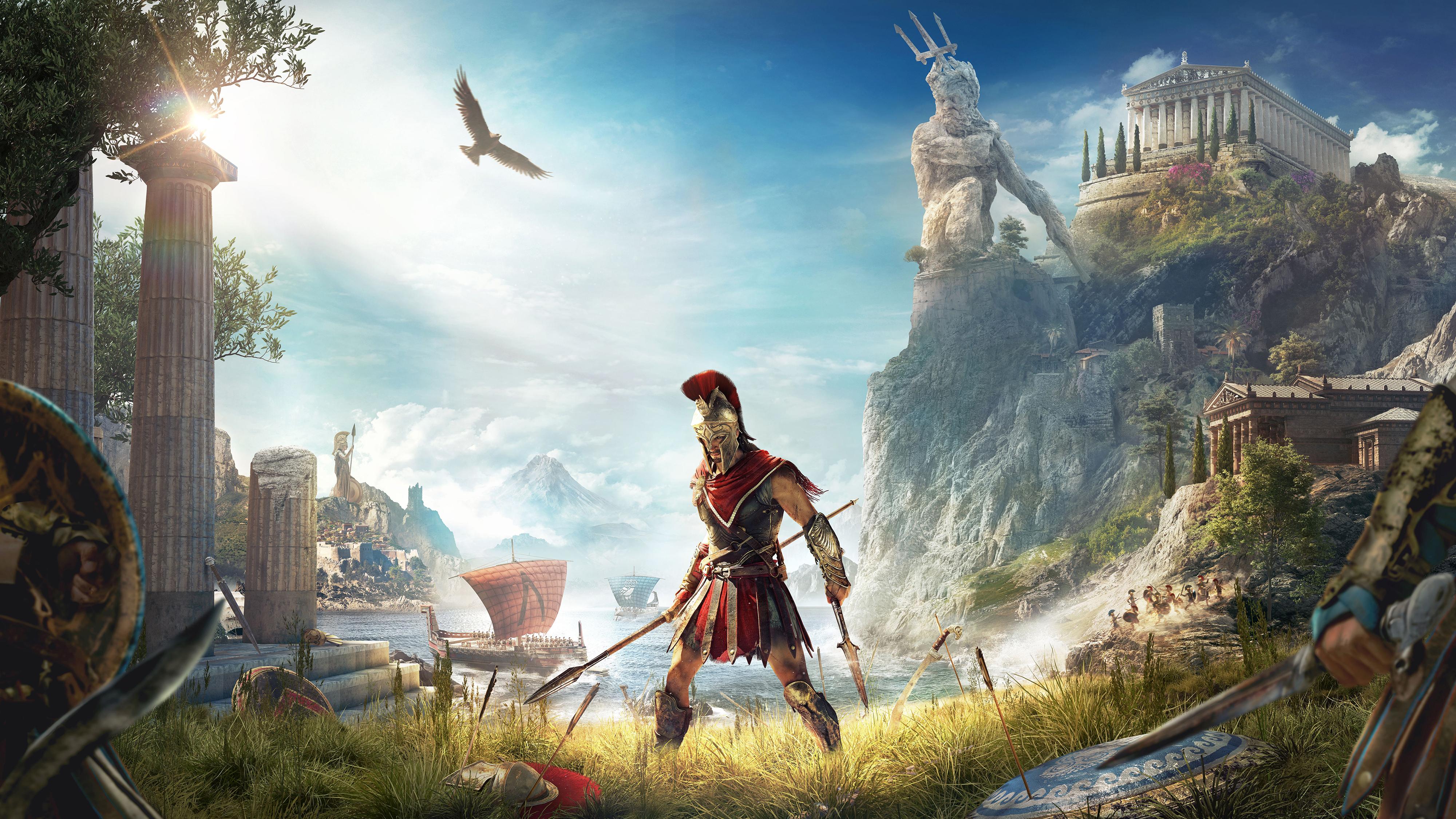 Assassins Creed Odyssey Key Visual