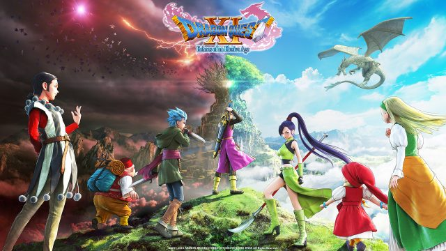 Dragon Quest XI Echoes of an Elusive Age Key Visual