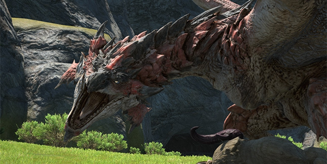 Final Fantasy XIV x Monster Hunter World Collaboration Banner
