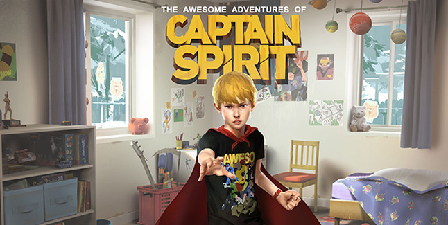 The Awesome Adventures of Captain Spirit Banner