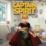 The Awesome Adventures of Captain Spirit Key Visual