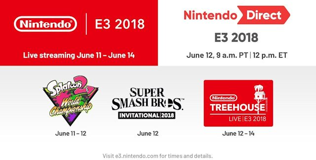 "E3 2018 Nintendo Treehouse ""Press Conference"" Roundup"