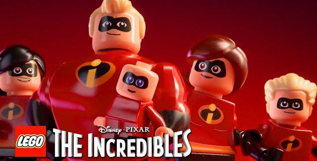 Lego The Incredibles Collectibles