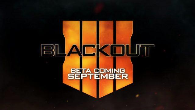 Call of Duty Black Ops IIII Blackout Logo