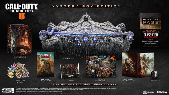 CoD Black Ops IIII Mystery Box Edition