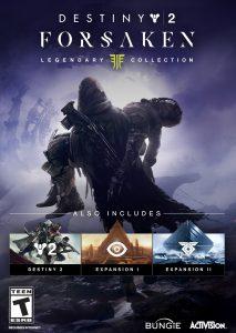 Destiny 2 Forsaken Legendary Collection Poster