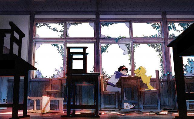 Digimon Survive Key Visual