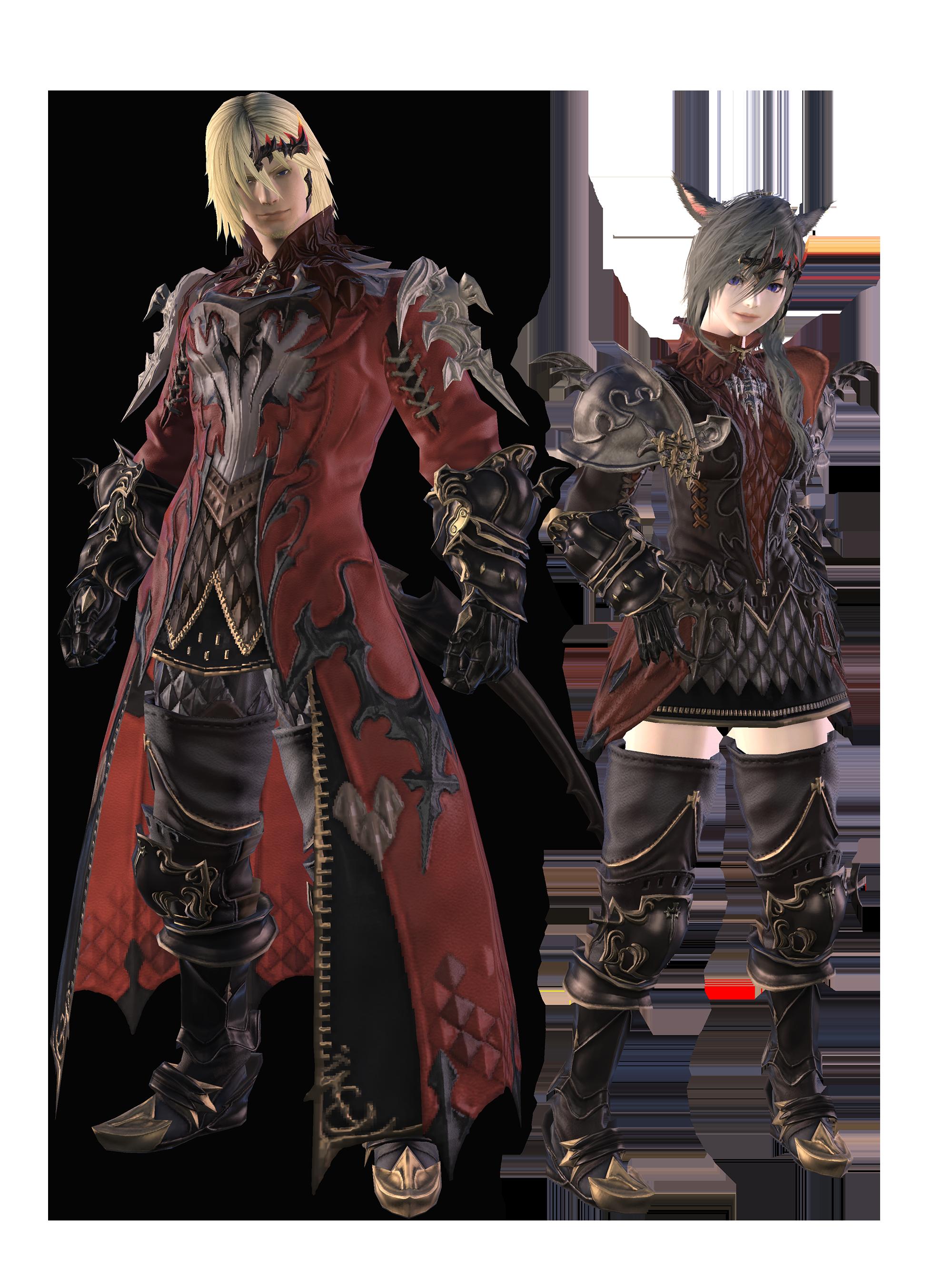 Final Fantasy Xiv X Monster Hunter World Collaboration Render 1