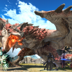 Final Fantasy XIV x Monster Hunter World Collaboration Screen 1