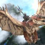 Final Fantasy XIV x Monster Hunter World Collaboration Screen 3
