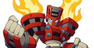 Mega Man 11 Torch Man Banner