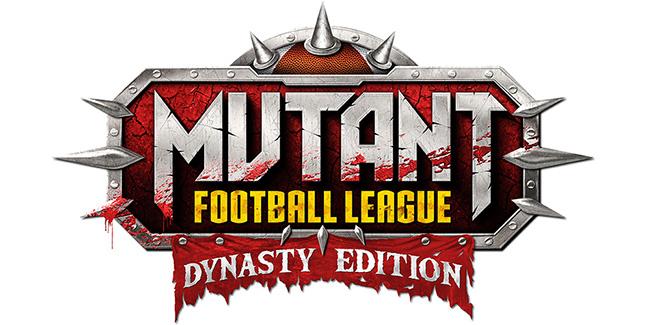 Mutant Football League Dynasty Edition Logo