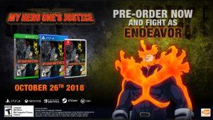 My Hero Ones Justice Pre.Order Bonus