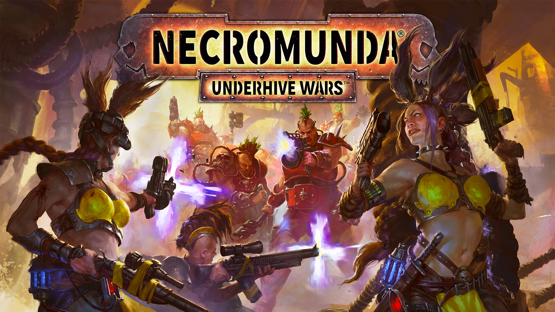 Necromunda Underhive Wars Concept Art