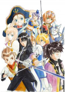 Tales of Vesperia Definitive Edition Key Visual