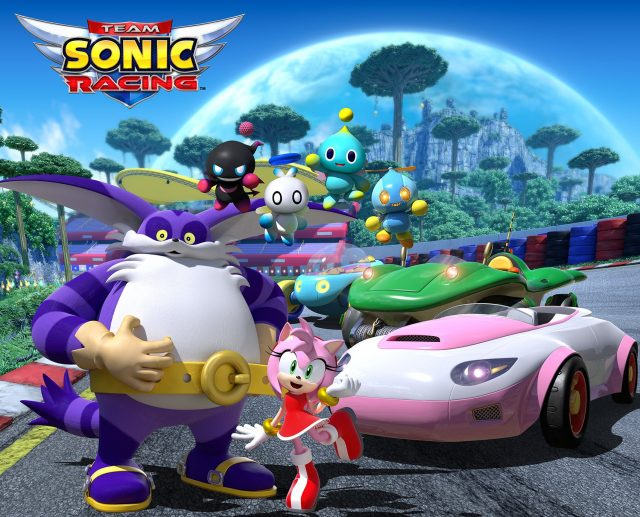 Team Sonic Racing Team Rose