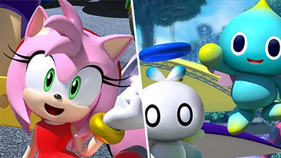 Team Sonic Racing Team Rose Banner