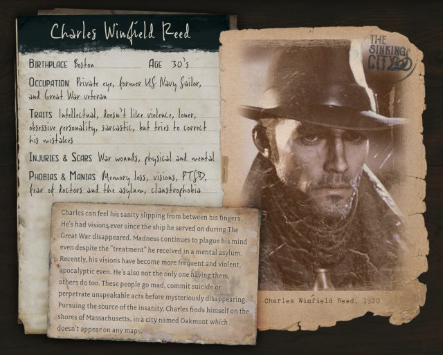 The Sinking City Charles Winfield Reed Bio