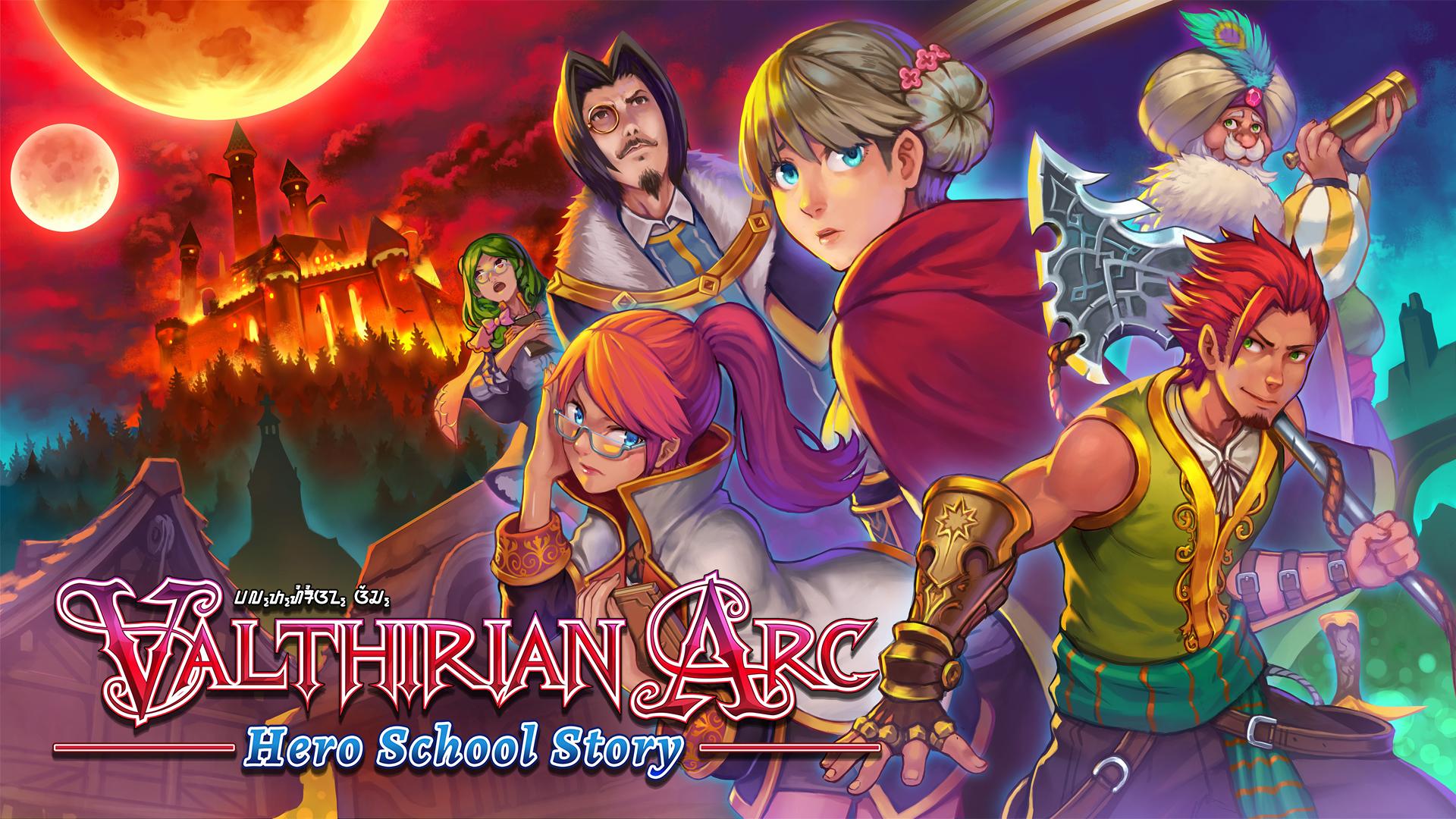 Valthirian Arc Hero School Story Promo Image 2