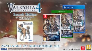 Valyria Chronicles 4 Launch Edition Europe