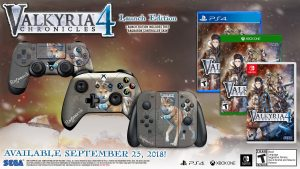 Valyria Chronicles 4 Launch Edition North America