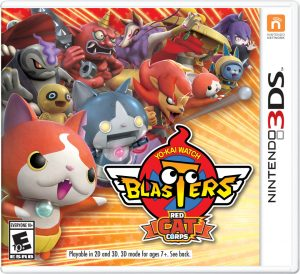 Yo-kai Watch Blasters Red Cat Corps Boxart