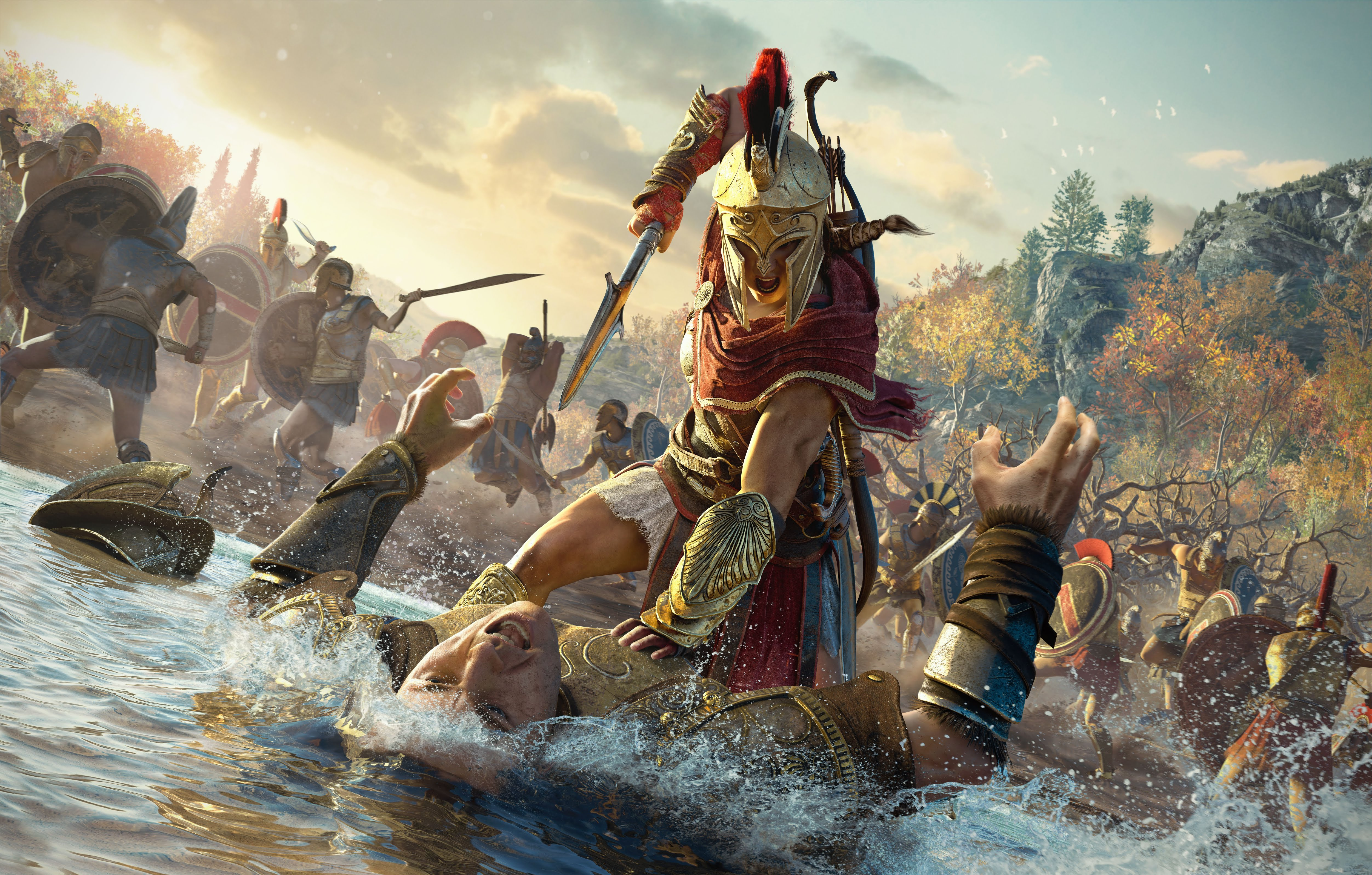 Assassins Creed Odyssey high Res Promo Image