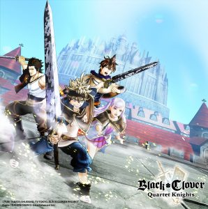 Black Clover Quartet Knights Key Visual