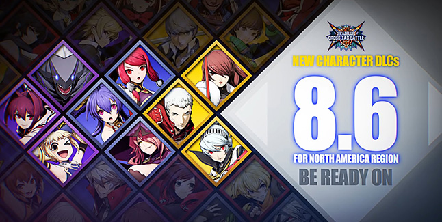 BlazBlue Cross Tag Battle DLC Banner