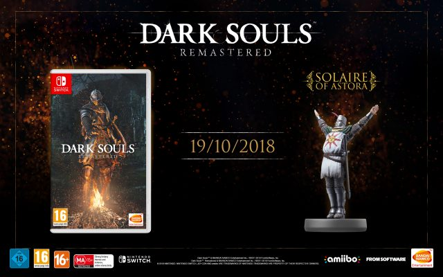 Dark Souls Remastered for Switch + Solaire amiibo