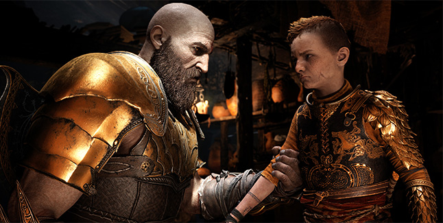 God of War New Game+ Gear Banner