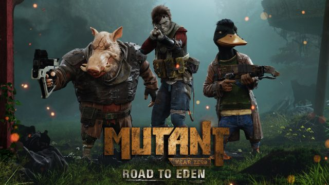 Mutant Year Zero Road to Eden Key Art