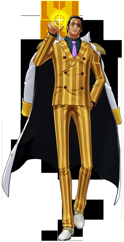 One Piece World Seeker Kizaru Render
