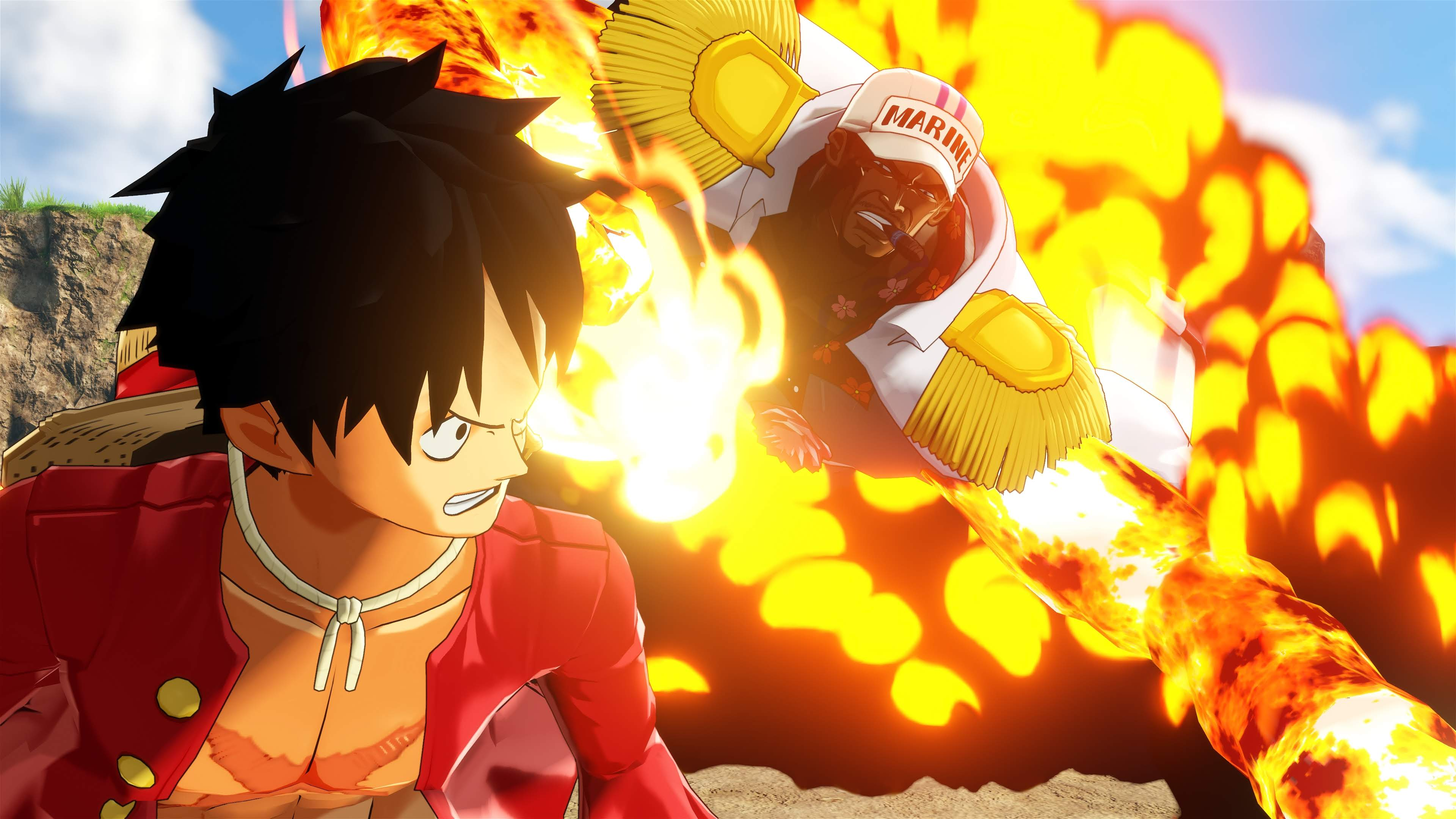 One Piece World Seeker Screen 3