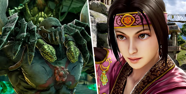 Soulcalibur VI Astaroth and Seong Mi-Na Banner
