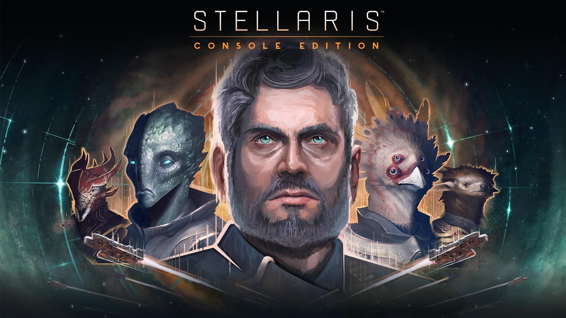 Stellaris Console Edition Key Art