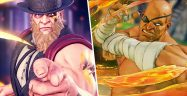 Street Fighter V G and Sagat Banner