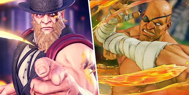 Street Fighter V G and Sagat Banner