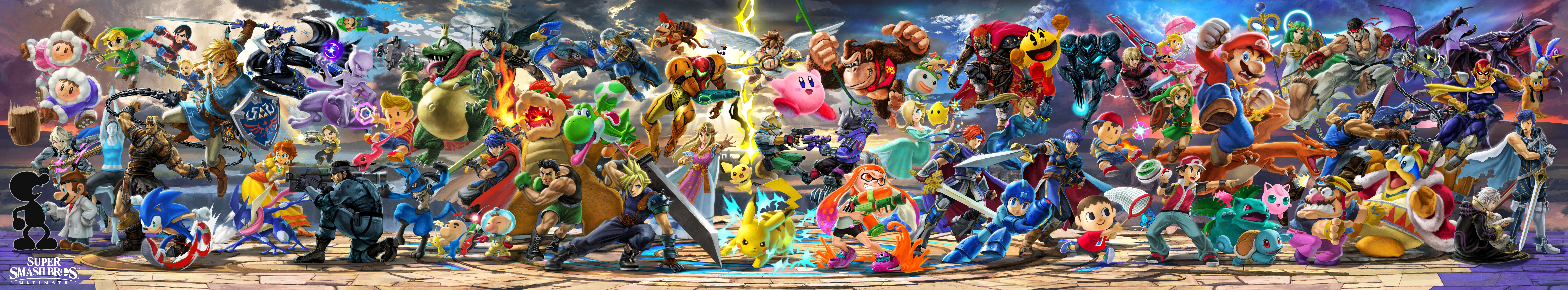 Super High Resolution Artwork Collection For Super Smash Bros