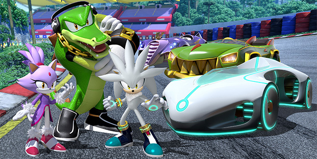 Team Sonic Racing New Characters Banner
