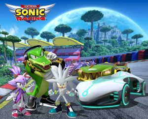 Team Sonic Racing New Characters Render