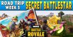 Fortnite Season 5 Week 5 Challenges: Battle Star Treasure Map & Golf Holes Locations Guide