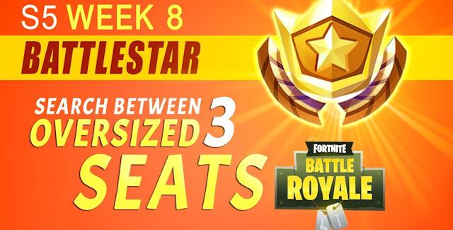 fortnite season 5 week 8 challenges battle star treasure map tomatohead banner locations guide - week 8 fortnite free battle star