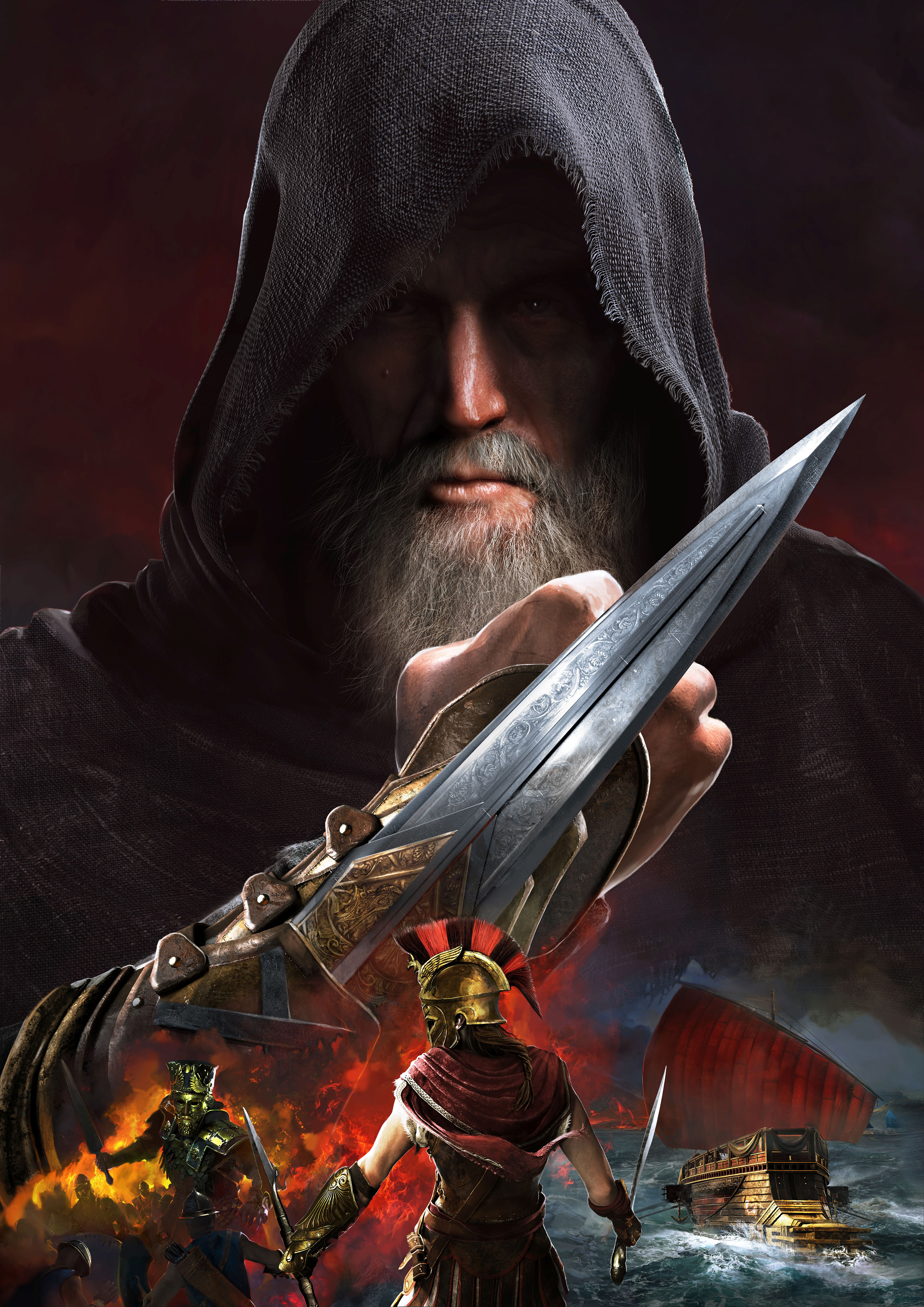 Assassin's Creed Odyssey Story Key Visual