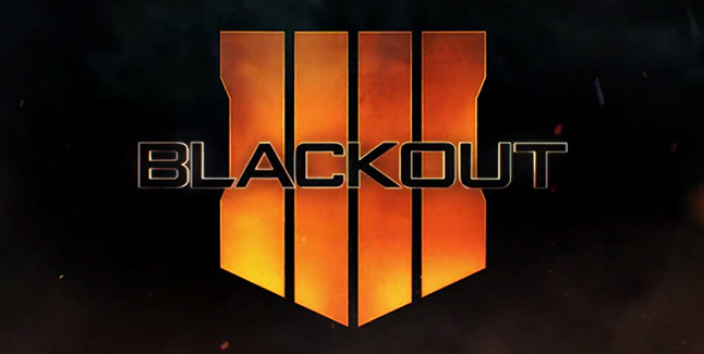 Call of Duty Black Ops 4 Blackout Logo